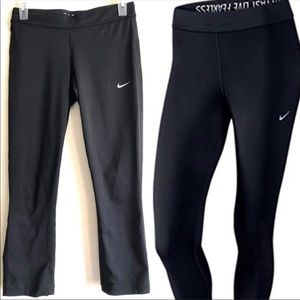 Nike Run Fast Live Fearless Relay Crop Tights